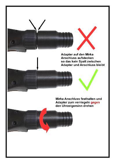 C28 Adapter für Mirka Anschluss