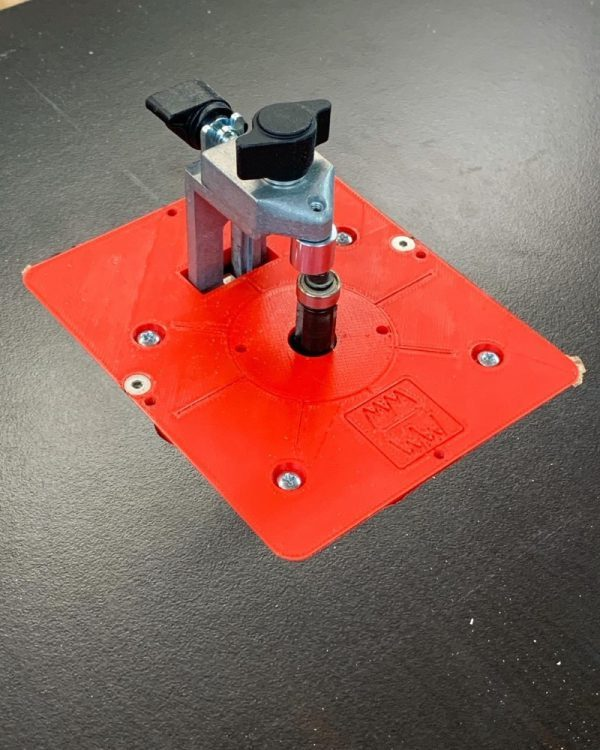 Mopemaster Frästisch Set für die Bosch GKF 600 Professional