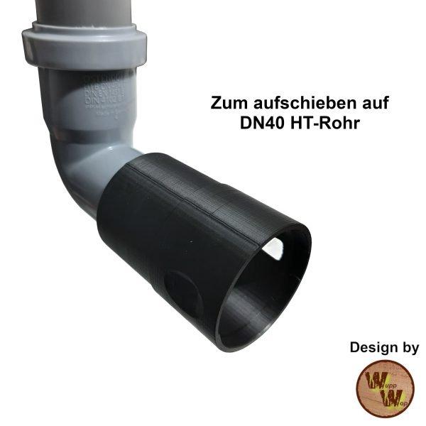 C35 HT-Rohr-Adapter 50/40 (C35DN50/40)