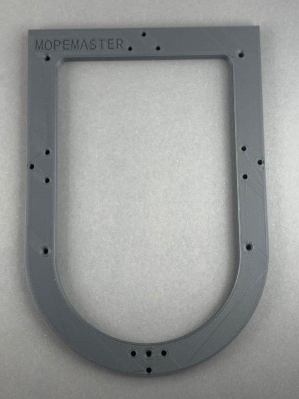 Frästisch Basisset für Kantenfräse Bosch GKF12V-8 in Dunkelgrau