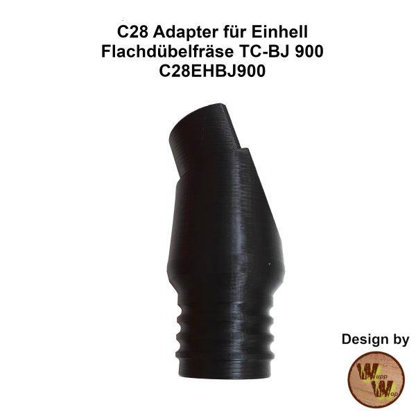 C28 Adapter C28EHBJ900 speziell passend für Einhell Flachdübelfräse TC-BJ 900
