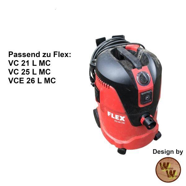 C35 Absaug-Adapter für Flex Nass-Trockensauger und DN50 HT-Rohr C35NTSDN50NL