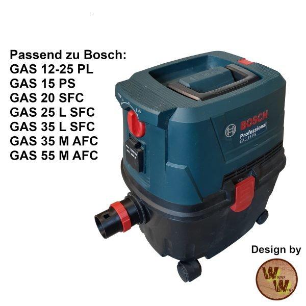 C35 Absaug-Adapter für Bosch Nass-Trockensauger und DN50 HT-Rohr C35NTSDN50NL