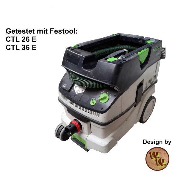C35 Absaug-Adapter für Festool Nass-Trockensauger und DN50 HT-Rohr C35NTSDN50NL