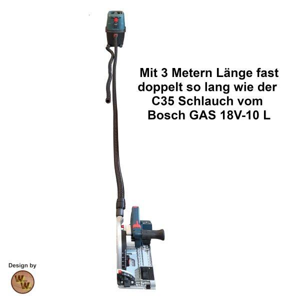 C35 Absaugschlauch in 3 Meter Länge C35SL3M