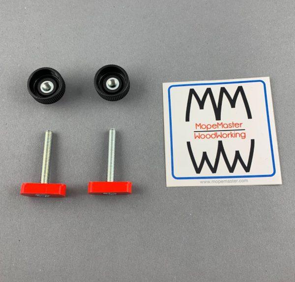 Nutensteine 17 mm für Aluminium C-Profil mit M6 Griffschrauben