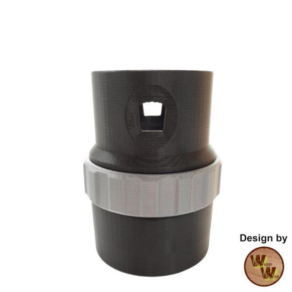 C35EHL01 Adapter für alle Einhell Nass-Trockensauger mit dem aktuellen Bajonettverschluss, mit integrierter Nebenluftregelung